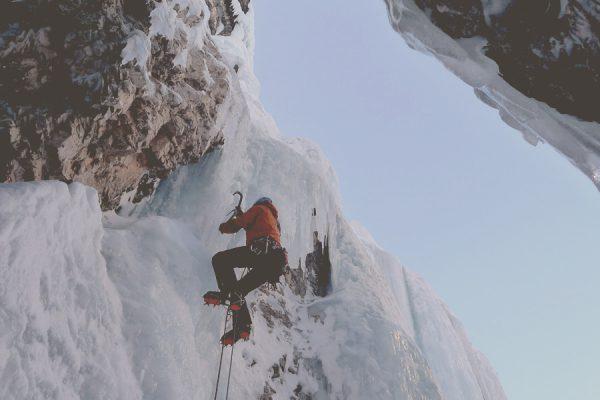 Eisklettern in Gastein mit Gernot Lachmaier