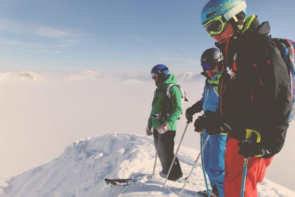 Freeriden mit professionellem Guide der Skischule Gastein