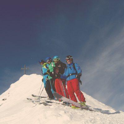 Geführte Variantenabfahrten im Gasteinertal mti der Skischule Gastein