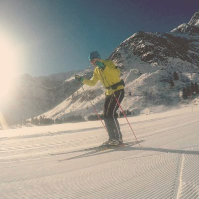 Cross-country skiing in Sportgastein - Skischule Gastein