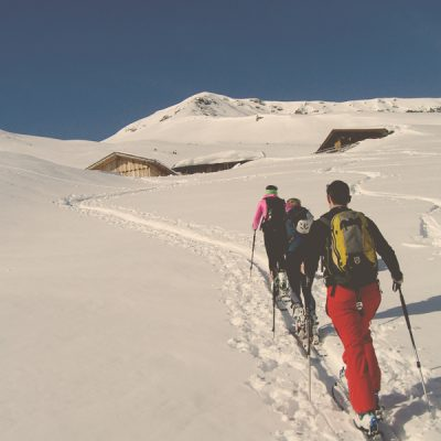 Ski tour with guide Andreas Schafflinger in the Gastein valley