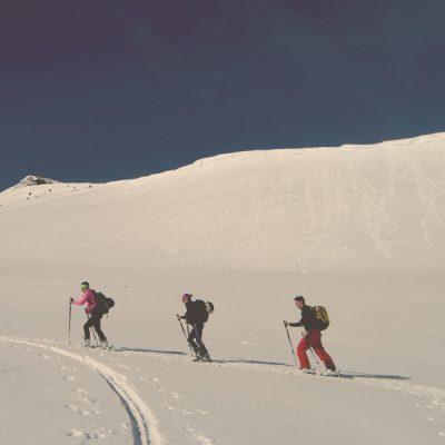 Geführte Skitouren mit der Skischule Gastein