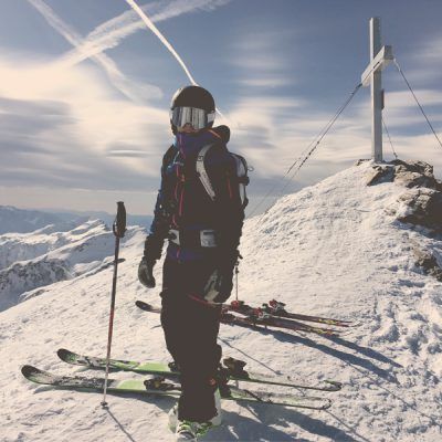 Freeriding from Schareck to Sportgastein with Skischule Gastein