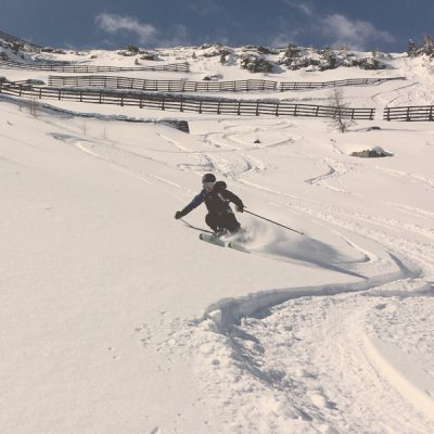 Freeriding in Sportgastein with Skischule Gastein