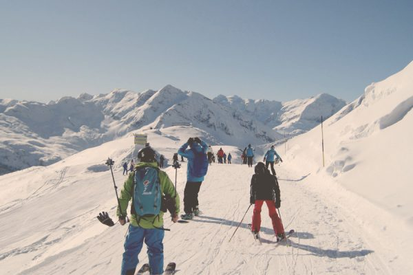 Group lessons with Skischule Gastein
