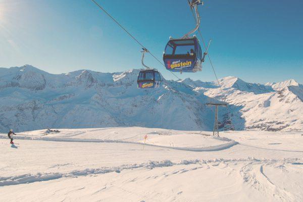 Skiing in Sportgastein c Gasteiner Bergbahnen gmbh